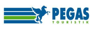 Логотип туристического агентства Pegas