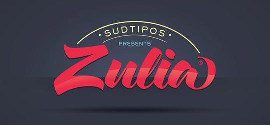 Zulia красивый шрифт