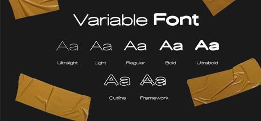 Decolator - font