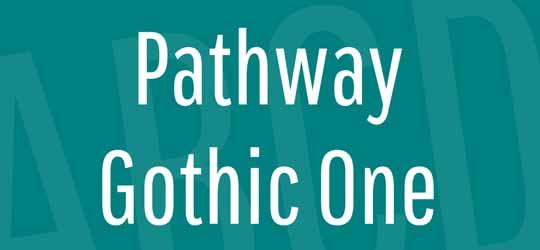 Скачать шрифт Pathway