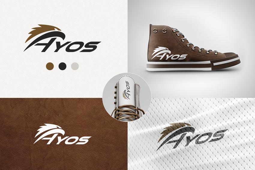 Эмблема для обуви