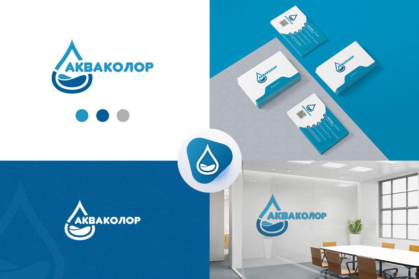 Ребрендинг логотипа Акваколор