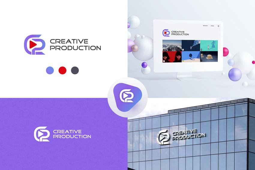 Логотип для видеостудии