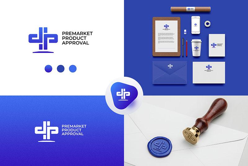 Логотип для компании по регистрации медицинских изделий