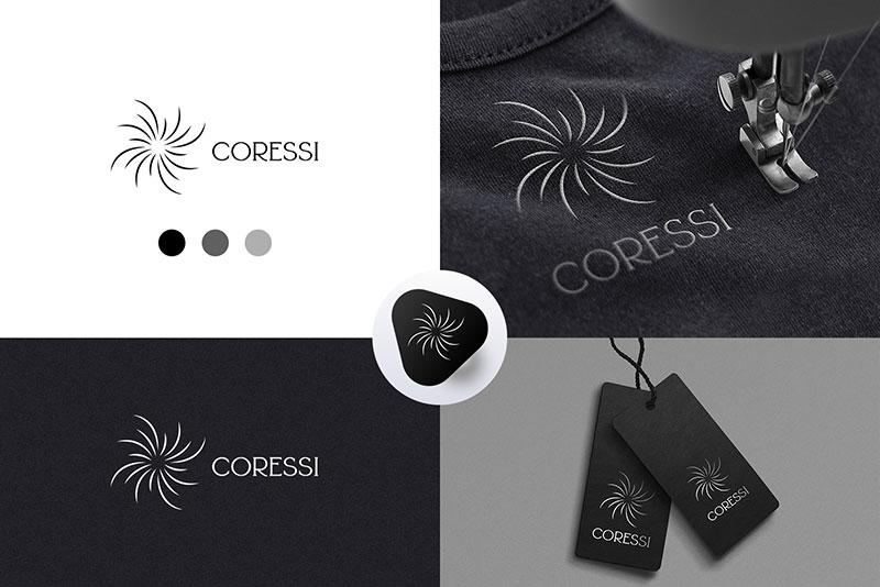Логотип для компании по производству женской одежды