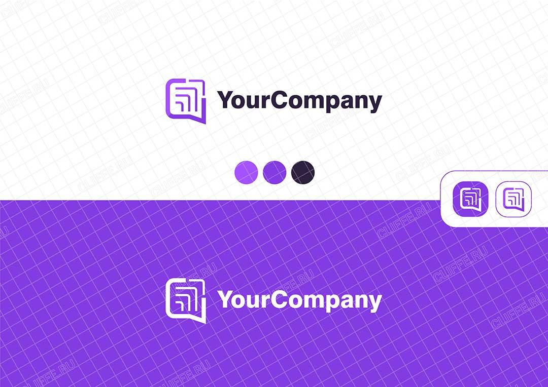 Логотип для IT компании