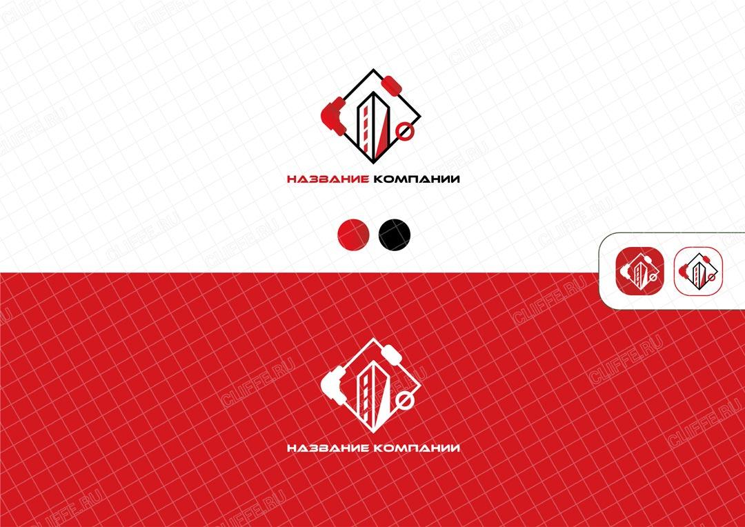 Логотип сантехнических услуг
