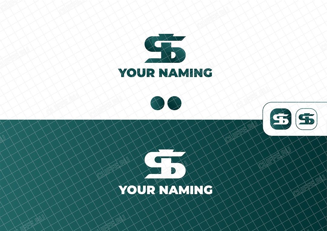 Логотип Монограмма SI