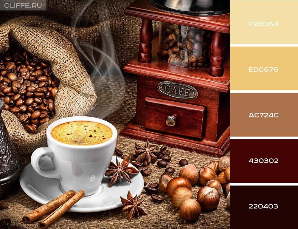 Эспрессо, корица и лесной орех отличное сочетание для ароматного утра
